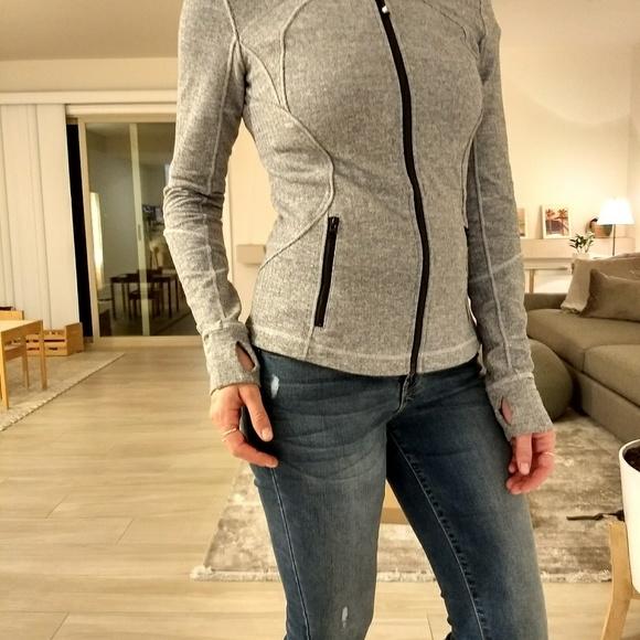 lululemon athletica Jackets & Blazers - Lululemon Forme II Jacket Ghost Herringbone